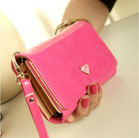New Hot Fashion Women Lady Girl Korean Style Solid Long Hasp Wallets Coin Purse Card Holder Large Capacity Mobile Phone Bag W45