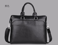 men leather bag business briefcase   bags for men totes handbags    big size shoulder bags