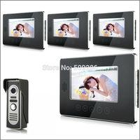 "2014 New Top Fashion free Shipping Video Doorphone & 7"" TFT LCD Indoor Monitor & Video Intercom System XSL-V70T-M2 1*4"