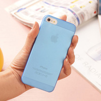 0.3mm High Quality  Ultra Thin Colorful Slim Matte Hard Case For iPhone 5/5s