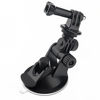 ST-51 Car Suction Cup Adapter Window Glass Camera Tripod Mount 7CM Diameter Base Mount for Gopro Hero 2 / 3