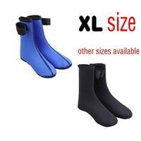 1 pair new Neoprene 3 mm 3mm Water Sports Swimming Scuba Diving Surfing Socks Snorkeling Boots XL size JSK001XL