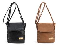 2014 New Women Leather Handbag Retro Fashion Women Messenger Bag Leather Totes Women Shoulder Bags Free shipping