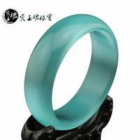 Jade exquisite cat-eye bracelets sweet Sky Blue women's glossy bracelet Buy for your girlfriend Fine jewelry