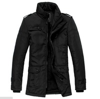 2014 New Fashion Winter Men Thickening Casual Cotton Jacket Outdoors Waterproof Windproof Breathable Sport Coat M-XXXL