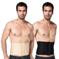 Mens Burn Fat Girdle Belt Tummy Slimming Body Shaper Belly Cincher Underwear Bodysuit New Freeshipping
