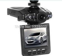 Free shopping HD198 Car Camera 6 IR LED Car video recorder for night vision Car DVR