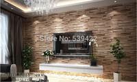 Upscale classic wood grain wallpaper for Livingroom_Bedroom