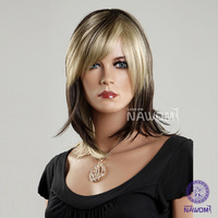 "18"" Wigs Cosplay Synthetic Full Hair Wigs Short Lace Front Wigs  Brazilian Hair Short Wigs"