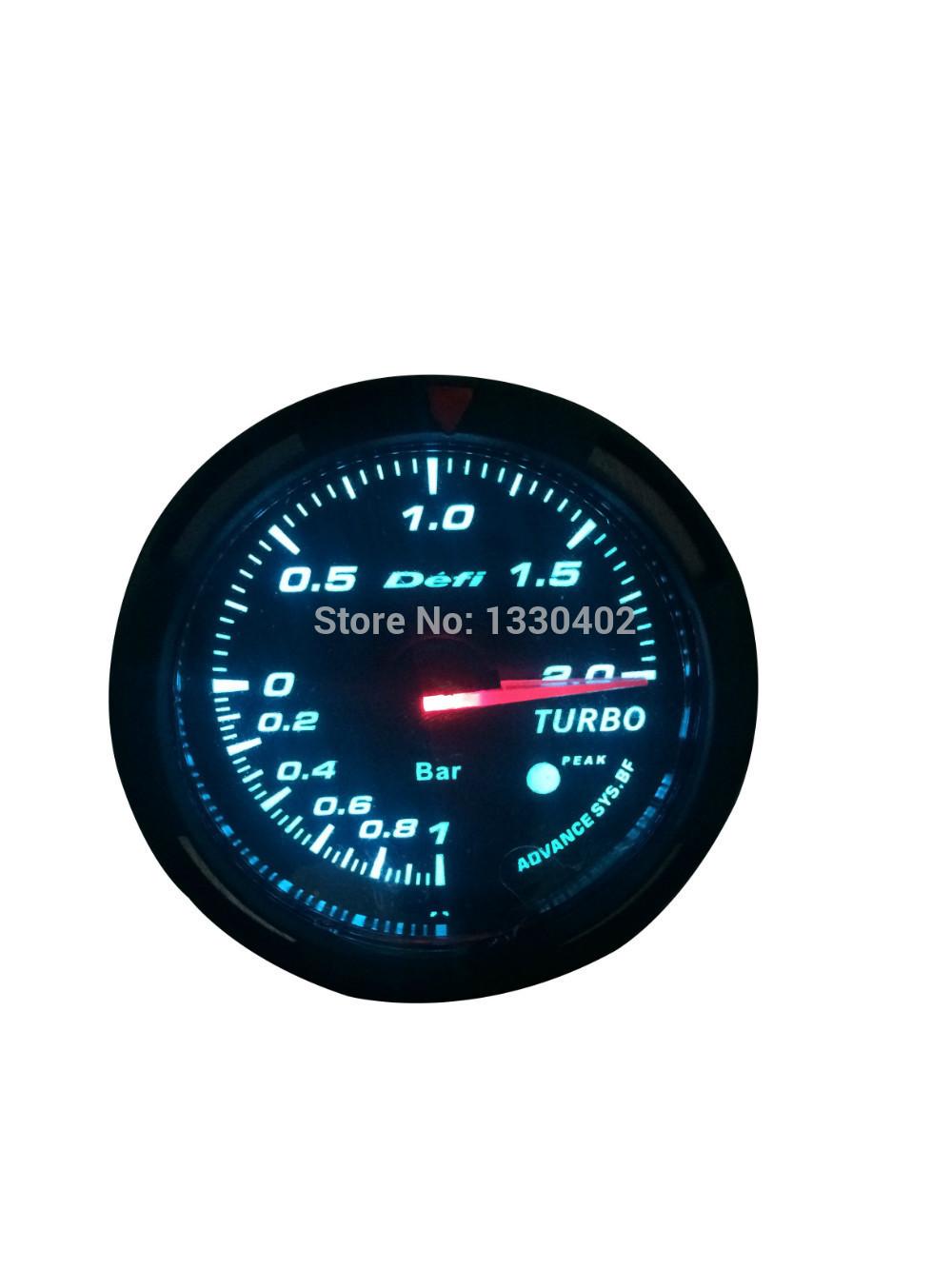 "2.5 "" DEFI ADVANCED BF Oil calibre temperatura bitola auto 60MM TURBO TACHOMETER VOLT TEMP ÁGUA OIL PRESS OIL TEMP VÁCUO(China (Mainland))"