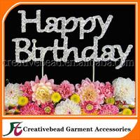 Free Shipping China wholesale happy birthday cake decoration