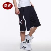 Basketball pants shorts usa backslapping training pants hiphop terylene double layer shorts male