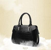 2014 new wave of female handbag crocodile pattern handbag bag bride wedding package