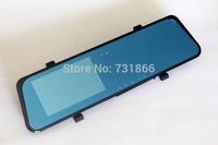 New Russian Car Rearview Mirror Parking Back Up DVR CAMERA 4xZoom AS HD 1080P Car DVR IR Night Vision G-SENSOR Car Black Box
