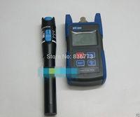 New Portable EF-200 Fiber Optic Optical Power Meter + Visual Fault Locator