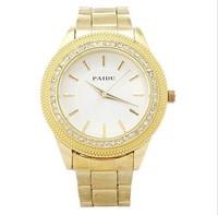 Women Rhinestone Watches Fashion Top Brand Luxury Golden Ladies Stainless Steel Quartz Watch Analog Women Dress Watches