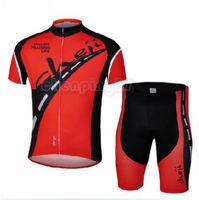 Bike Cycling Clothing Bicycle Wear Suit Short Sleeve Jersey + (Bib) Shorts S-3XL  CC1009