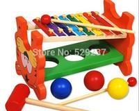 Wood ball xylophone combination steel knock piano kids musical instrument spherule combination toy knock piano play yakuchinone