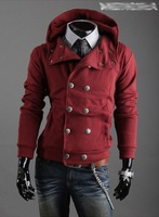 Assassin's creed Hooded Sweater Double-breasted Hooded Jacket