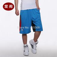 Durant basketball pants sports shorts male running pants hiphop knee-length pants