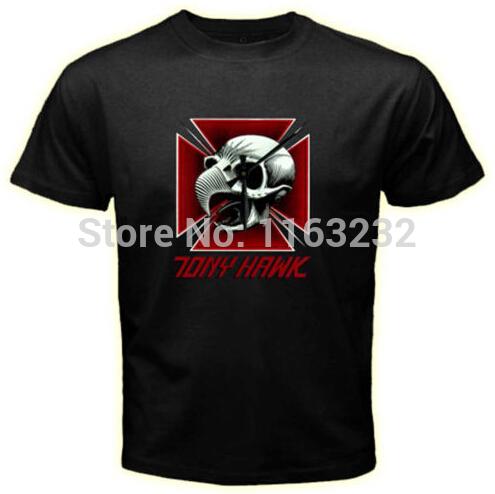 Tony Hawk Powell Peralta t shirt 100% Cotton Men's Short-sleeve Custom t shirt Plus Size good quality new 2014(China (Mainland))