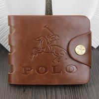 Classic men's brand wallets high quality men's wallet fashion male coin purse DROP SHIPPING   QB17