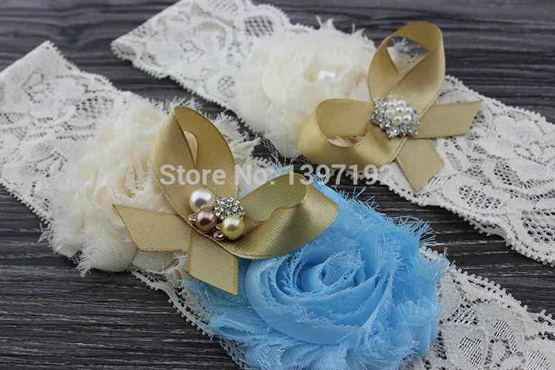 MOQ 2PCS Bridal Garter belt, Wedding Garter and Toss Garter -Crystal Rhinestone IVORY Garter Set,Something blue, WW038(China (Mainland))