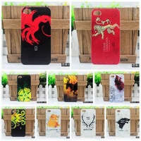 100% New 2014 retro cool Ice And Fire Game of Thrones protective cover case for Jiayu G5