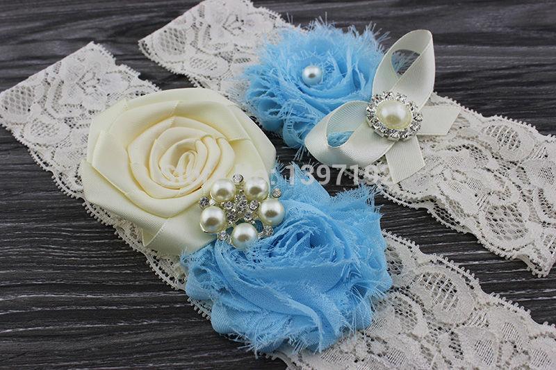 2PCS Bridal Garter Belt, Ivory Wedding Garter Set Vintage Lace Keepsake and Toss Garter -Crystal Rhinestone something blue WW040(China (Mainland))