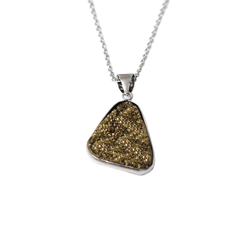 Quartz Crystal Jewelry Wholesale Druzy Pendants Wholesale Druzy Jewelry With Natural Quartz Crystal Stone