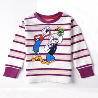 Nova kids brand baby boys children clothing cotton spring long t shirt for baby boys A3113