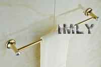 Diamond Design  High Quality Glod Finishing  Bathroom Accessories Towel Bar -60CM Bathroom Towel Bar