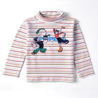 Nova kids brand baby boys children clothing cotton spring long t shirt for baby boys A3095