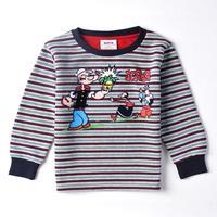New hot fashion nova kids brand baby boys children clothing cotton spring long t shirt for baby boys A3146