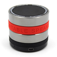 Wireless Bluetooth Mini speaker stereo speakers support TF MP3 Bluetooth  Portable Super Bass For iPhone 4 5 samsung RED