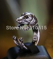 Fashion Dachshund Weiner Sausage Dog Wrap Ring