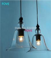 Modern Design Aluminum Cup Bell Pendant Light Abajur IKEA Lustres E Pendentes Restaurant Pendant Lamp Glass Living Room Lamps