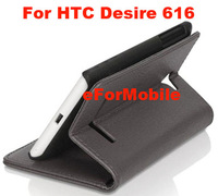 Wallet Stand Case Mobile Phone Leather Case Stand Pouch For HTC Desire 616 dual sim