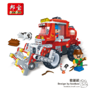 Free shipping Gruond fight inserted blocks harvestable 8576 228 granules fight inserted blocks