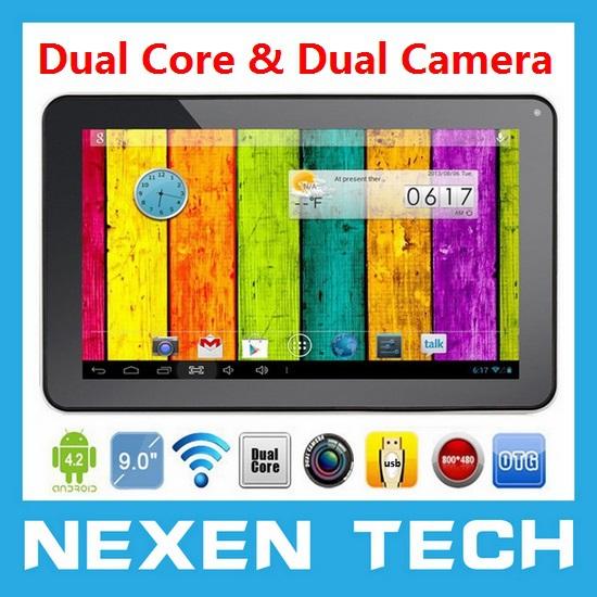 Планшетный ПК NEXEN 9X 9/bluetooth WiFi Android 4.2 Webcam 1,5 512 8GB Android 4.2 A23 9