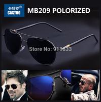 2014 Classic Brand Design Men's Polarized Sunglasses Male Sport Oculos Multicolor Polaroid Driving Aviator Gafas Wayfarer MB209