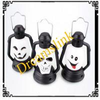 2014 new Bar Club Night light Halloween skeleton pumpkin smile face colorful camping garden light LED emergency light