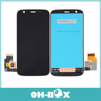 100% Original For Motorola MOTO G XT1032 XT1033 LCD Screen with Touch Screen Digitizer Assembly Black Color Free shipping