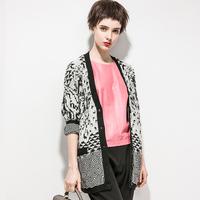 2014 british style flower yarn fashion cardigan outerwear women