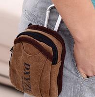 free shipping 2014 new Korean men canvas bag purse mini bag tide bag sports bag casual fashion handbags
