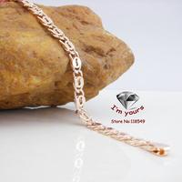8523681 18K golden plated cc/585 gold rose gold bracelet