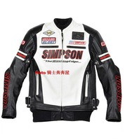Simpson sj-3133 motorcycle jacket knight clothing motorcycle clothing automobile race PU belt cotton clip Waterproof&Windproof