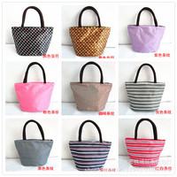 Wholesale lunch bag lunch bag single mom pack a small bag zipper Korean fashion handbags printing