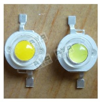 1 W high power LED lamp bead di source chip double gold wire upgrade edition, 85-100 lm/W