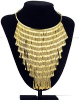 N00539 2015 New Arrival vintage fashion items necklaces & pendants choker statement chain Necklace Exaggerated jewelry